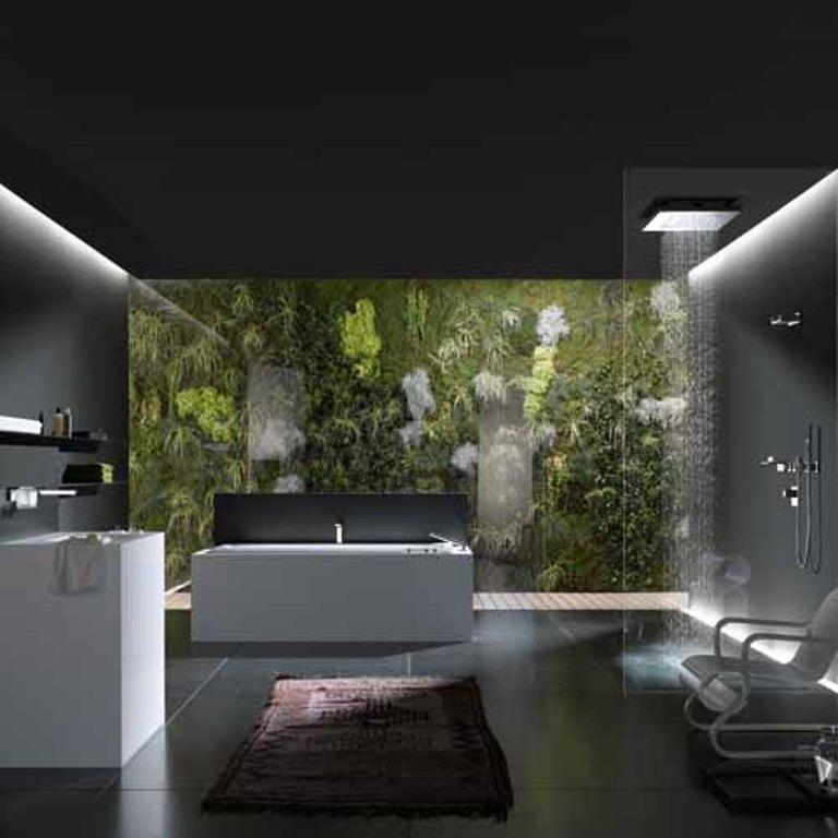 20 Sleek Ideas For Modern Black And White Bathrooms: 20 Bold Black Bathroom Design Ideas