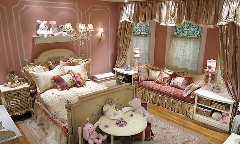 Royalty French Inspired Bedroom for Girls. 15 French Inspired Bedrooms for Girls   Rilane