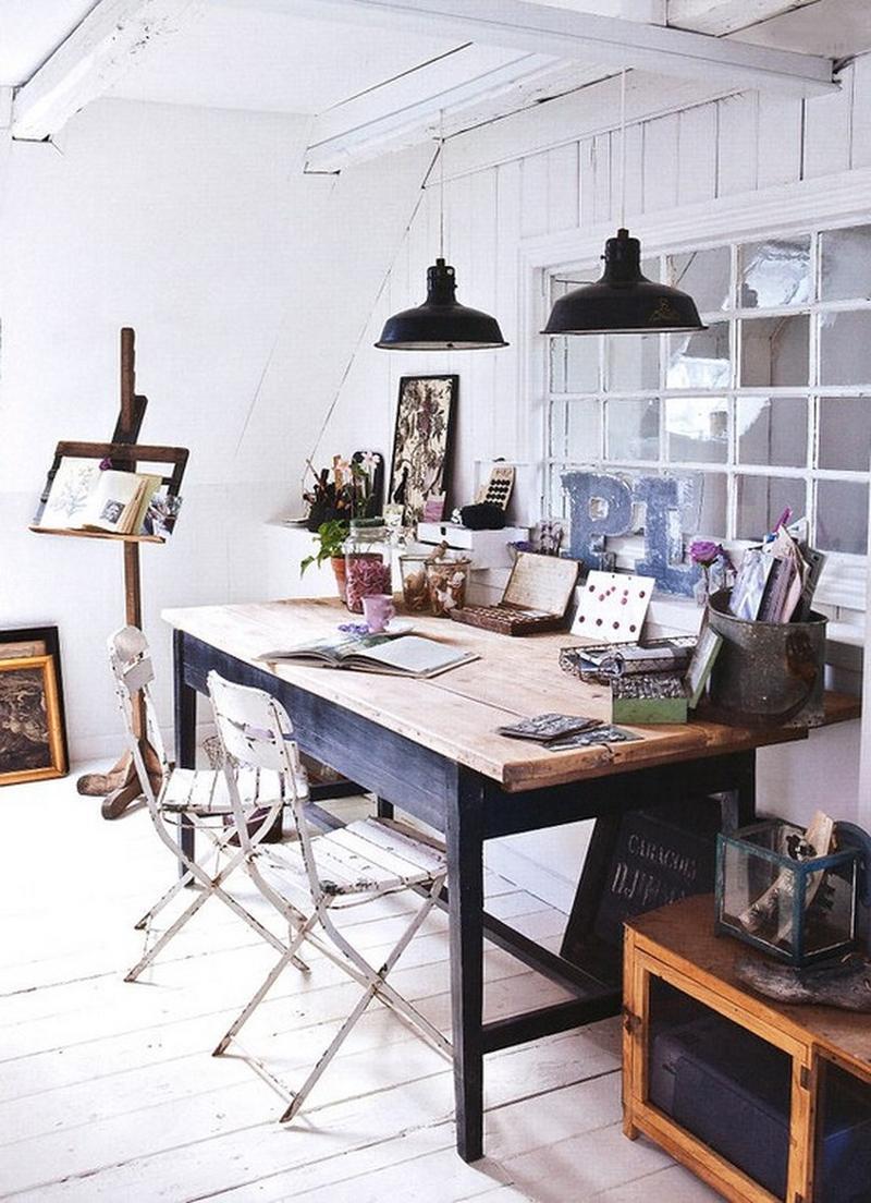 10 Attic Home Office Design Ideas - Rilane