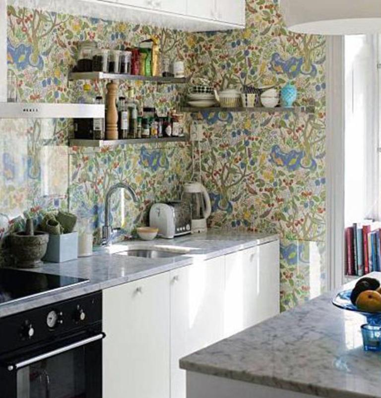 15 Charminng Kitchens with Floral Wallpaper - Rilane on kitchen borders birds, kitchen box designs, kitchen bamboo wallpaper, kitchen design designs, kitchen fireplaces designs, kitchen clipart designs, kitchen wallpaper murals, kitchen wallpaper texture, kitchen wallpaper borders, kitchen wallpaper books, kitchen wallpaper samples, kitchen tables designs, kitchen decorating, kitchen tile wallpaper, kitchen background designs, kitchen backsplash wallpaper, kitchen desktop wallpaper, kitchen rugs designs, kitchen vinyl designs, kitchen wallpaper colors,