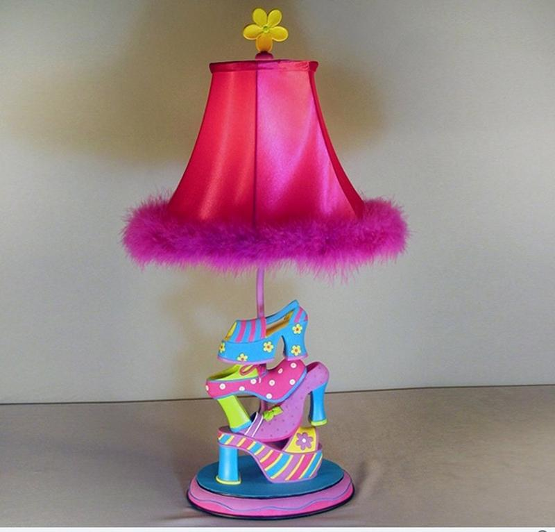 Shoe Diva Table Lamp. 10 Adorable Girls Bedroom Table Lamp Ideas   Rilane