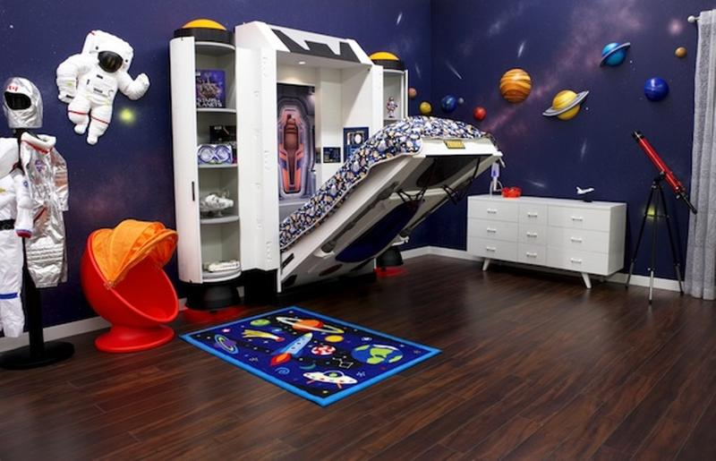 super cool space themed bedroom - Cool Themes For Bedrooms