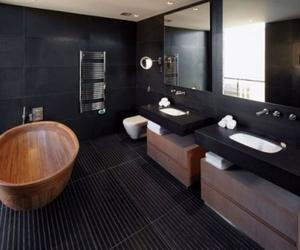20 Bold Black Bathroom Design Ideas