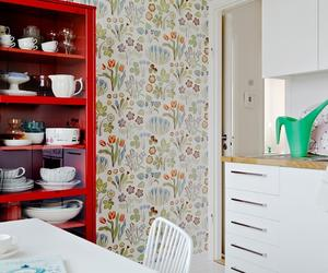 15 Charminng Kitchens with Floral Wallpaper