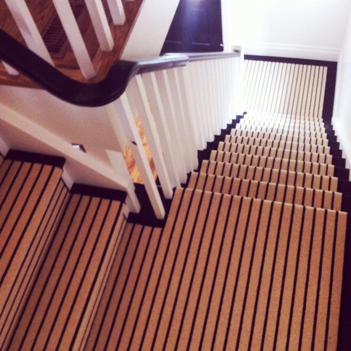 Stair Runner Carpet Colorful