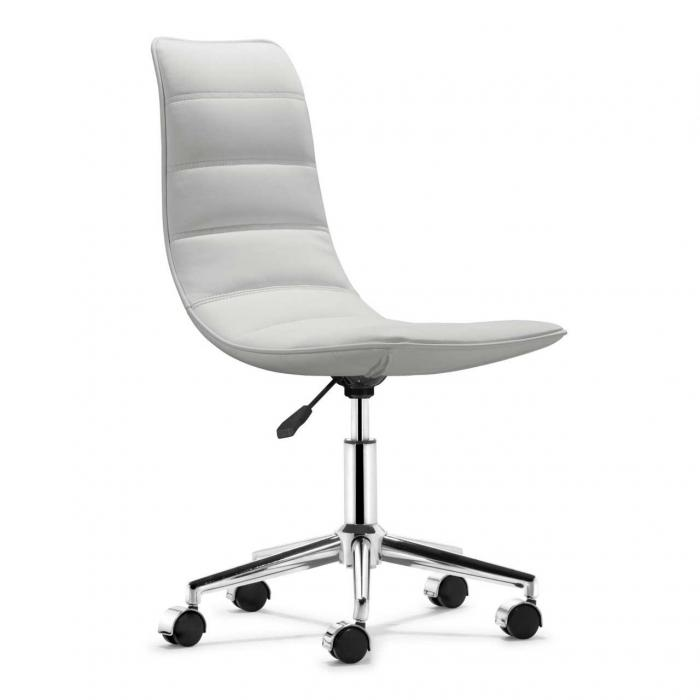 Charmant White Modern Computer Chair