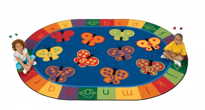 10 Colorful And Educational Kid S Rugs Rilane