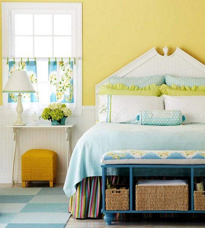 Adorable Yellow Bedroom