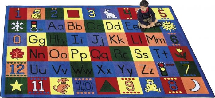 Around The Block Educational Rug