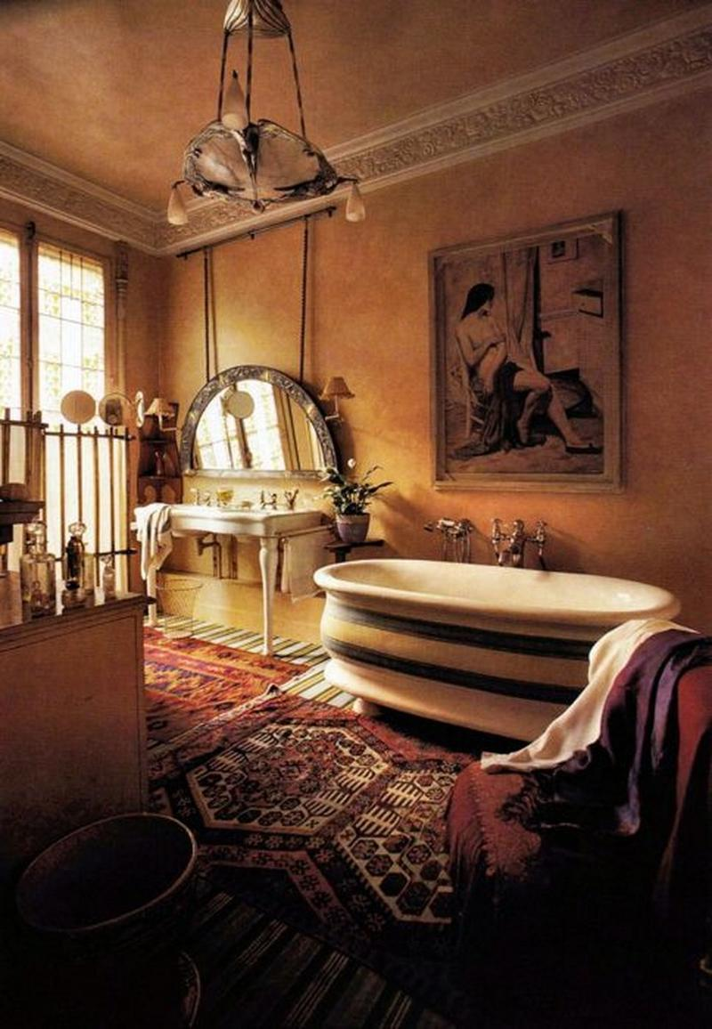 Awesome Artistic Bohemian Bathroom