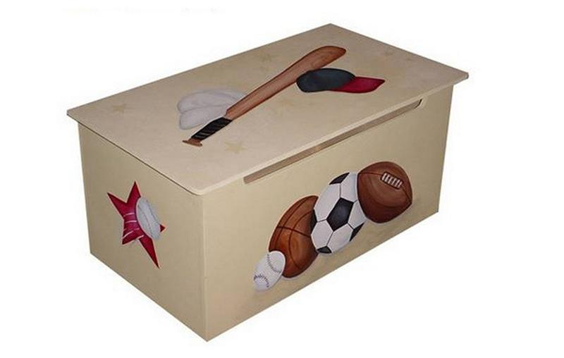 Baseball Toy Storage Box