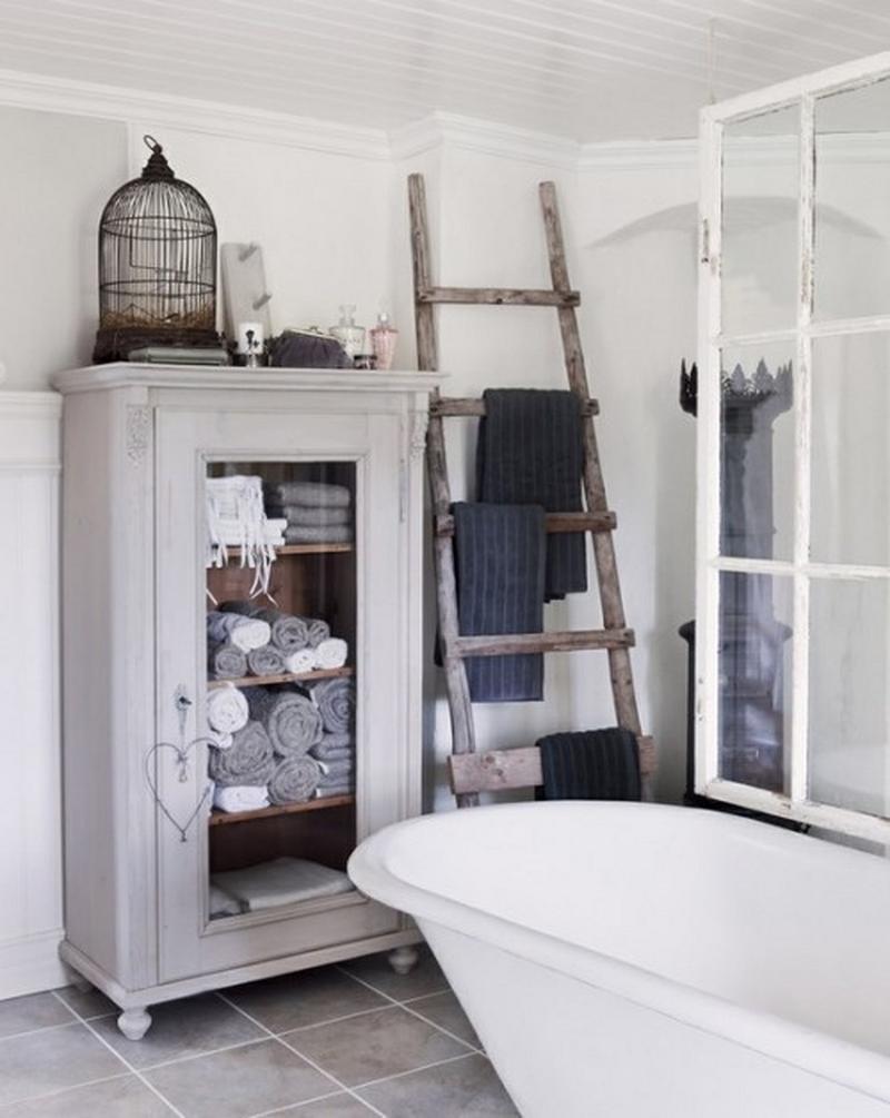 10 Creative Bathroom Storage Ideas - Rilane
