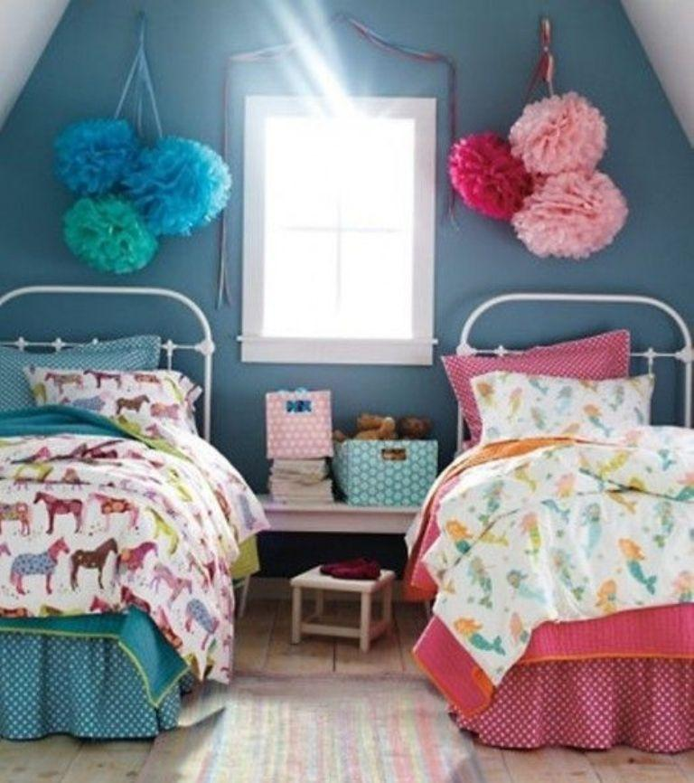 15 Adorable Pink and Blue Bedroom for Girls - Rilane