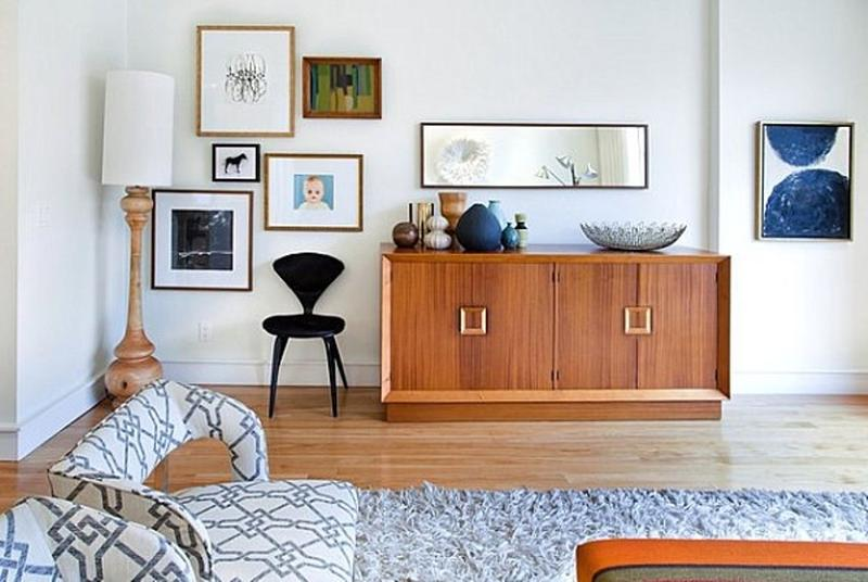 Beautiful Mid Century Living Room