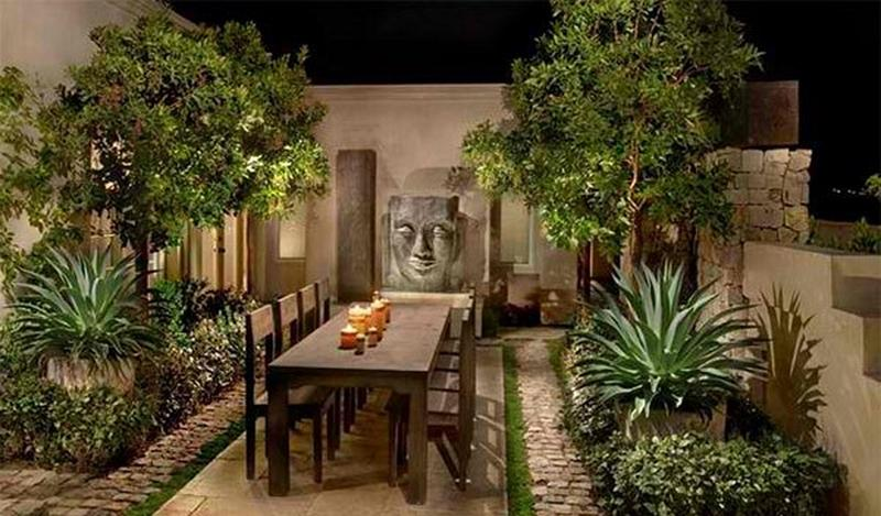 Asian Inspired Dining Room 10 gorgeous asian inspired patio designs - rilane