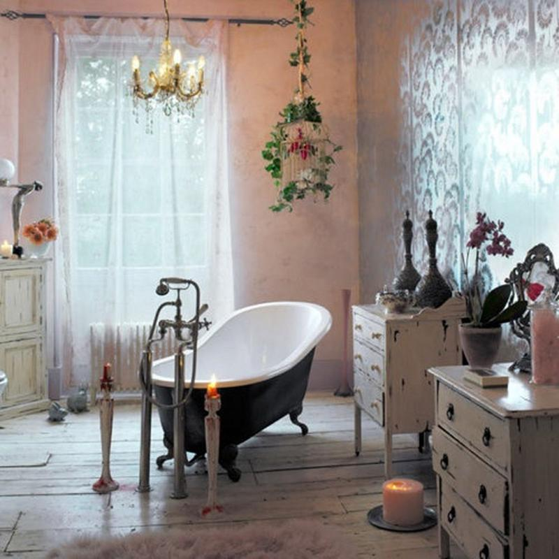 Charming Bohemian Bathroom. 15 Captivating Bohemian Bathroom Designs   Rilane