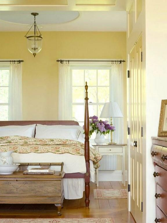 15 Pleasant Yellow Bedroom Design Ideas Rilane