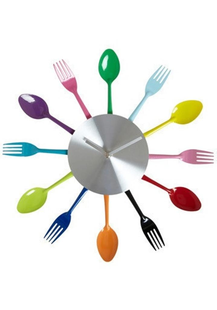 10 cool kitchen wall clock designs - rilane