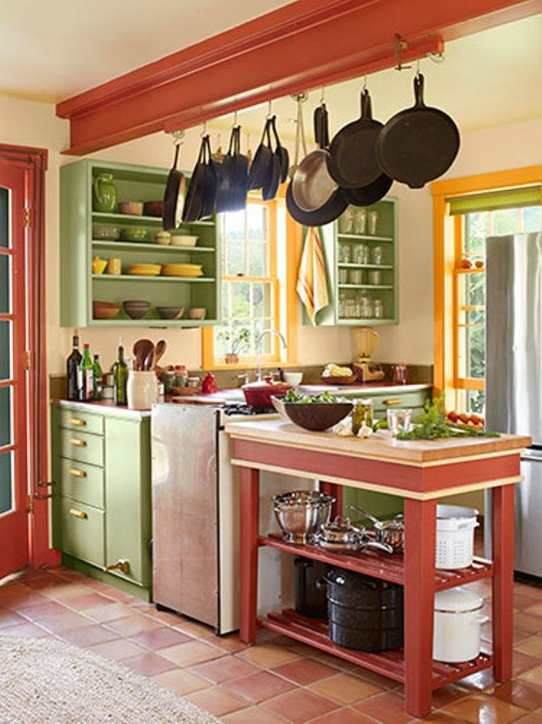 Contemplative Country Kitchen