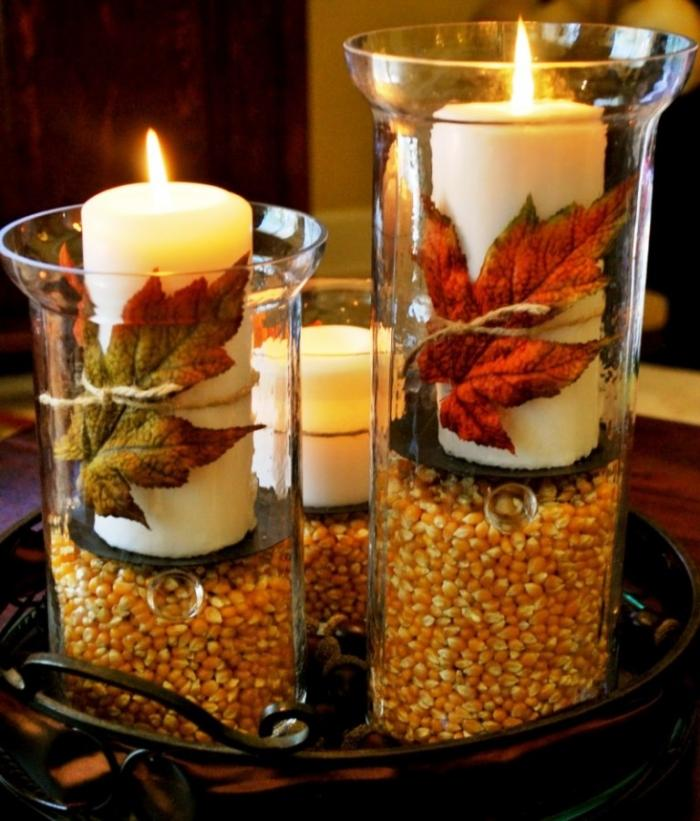 15 awesome candle table center piece ideas rilane - Vase decoration interieur ...