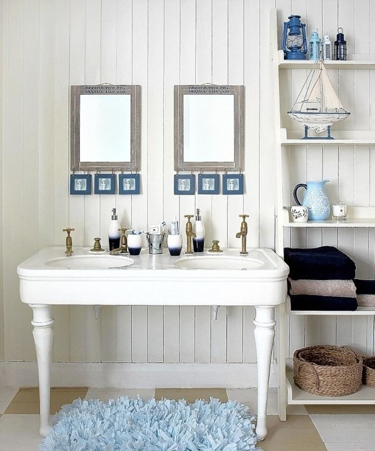 Ideas For Beach Houses Ideas: 15 Beach Themed Bathroom Design Ideas