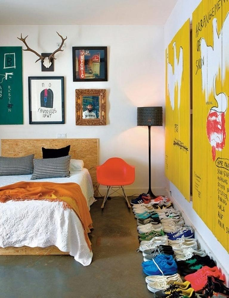 cool eclectic bedroom - Eclectic Decor