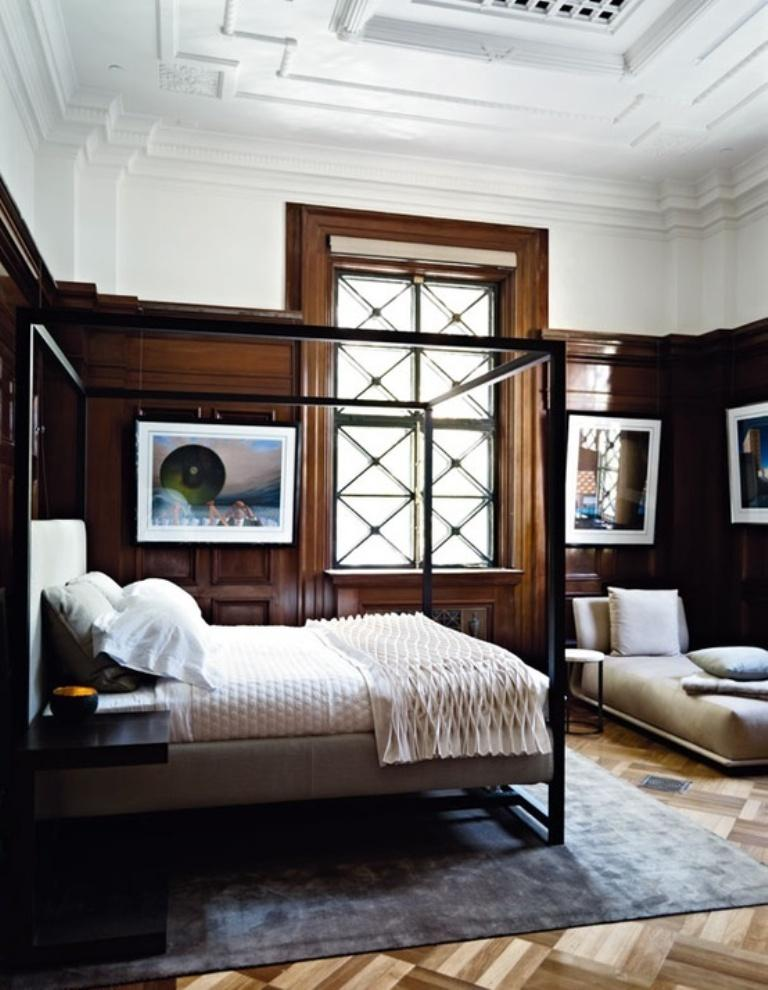 15 beautiful bedroom designs with wooden panneling rilane
