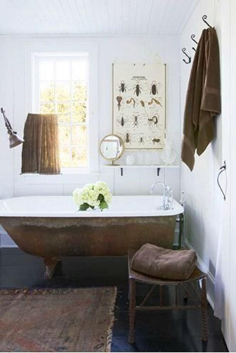 Fantastic Eclectic Bathroom HD9I20