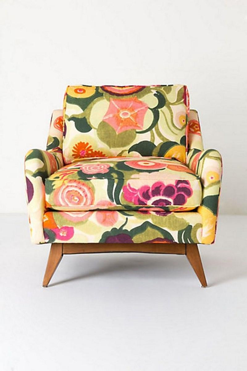 10 Exotic Floral Armchair Design Ideas Rilane