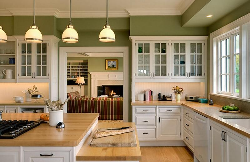 Farmhouse Green Kitchen