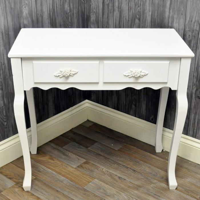 Wooden Hall Tables 10 white console tables for the hallways - rilane