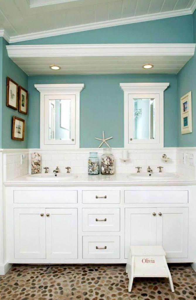 beach themed bathroom design ideas  rilane, Home design