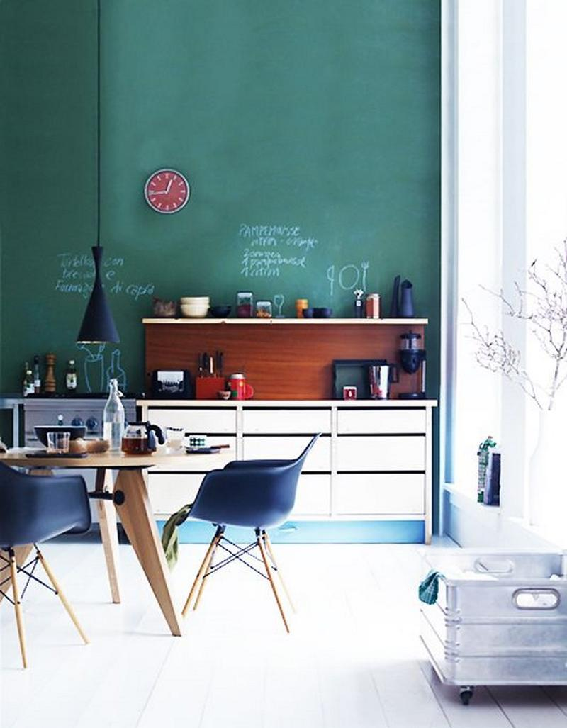 15 Cheery Green Kitchen Design Ideas