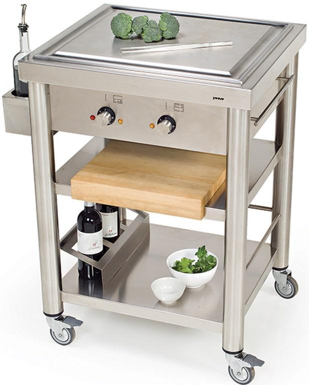 10 Useful And Aesthetic Kitchen Cart Design Ideas Rilane