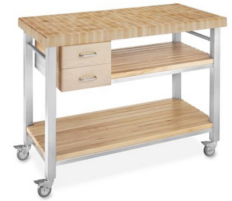 Light Kitchen Cart