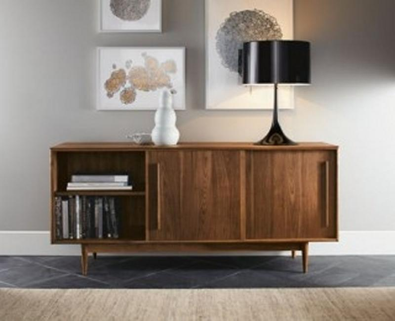 10 mid century sideboards for the living room rilane. Black Bedroom Furniture Sets. Home Design Ideas