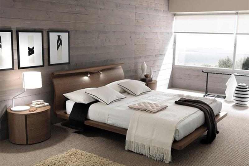 15 beautiful bedroom designs with wooden panneling - Beautiful Bedroom