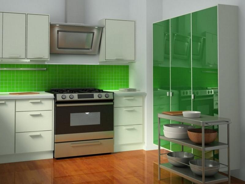 15 cheery green kitchen design ideas rilane Modern green kitchen ideas