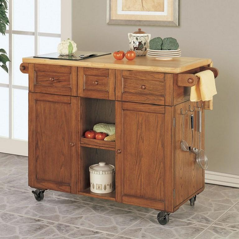useful and aesthetic kitchen cart design ideas  rilane, Kitchen design