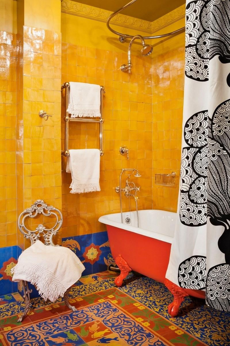 Outstanding Bohemian Bathroom. 15 Captivating Bohemian Bathroom Designs   Rilane