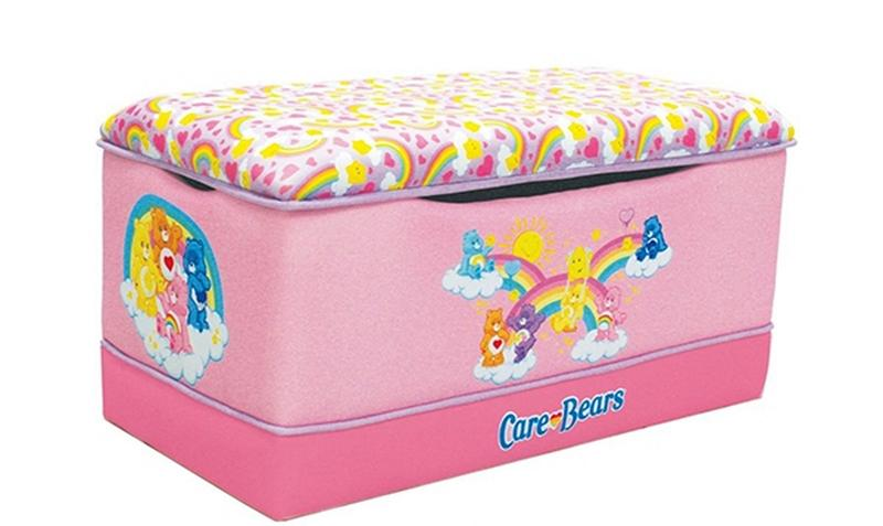 Pink Care Bears Toys Storage