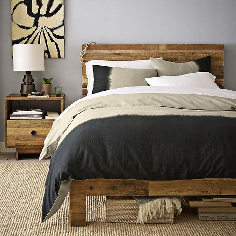 10 creative pallet bed design ideas rilane - Deco chambre style scandinave ...