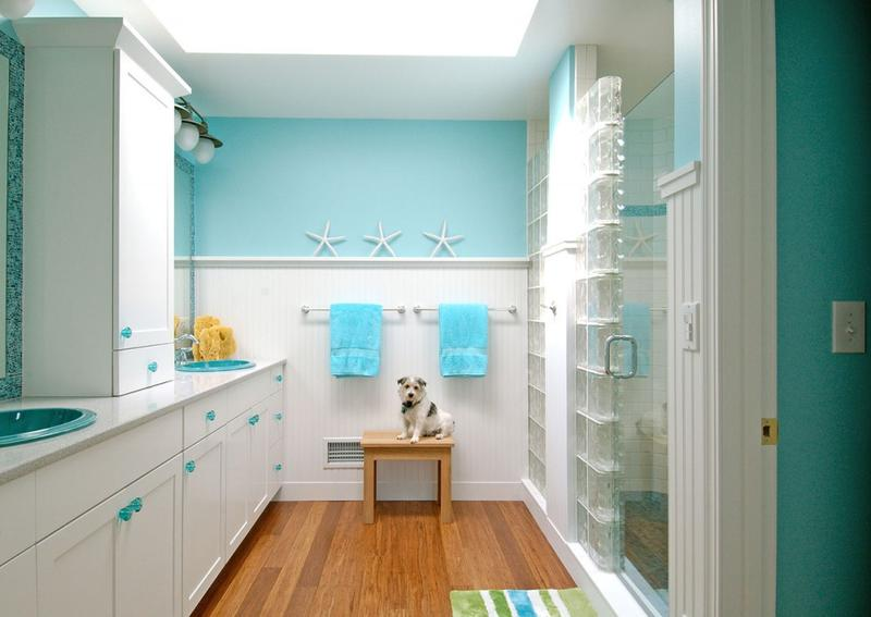 refreshing beach themed bathroom - Bathroom Ideas Beach