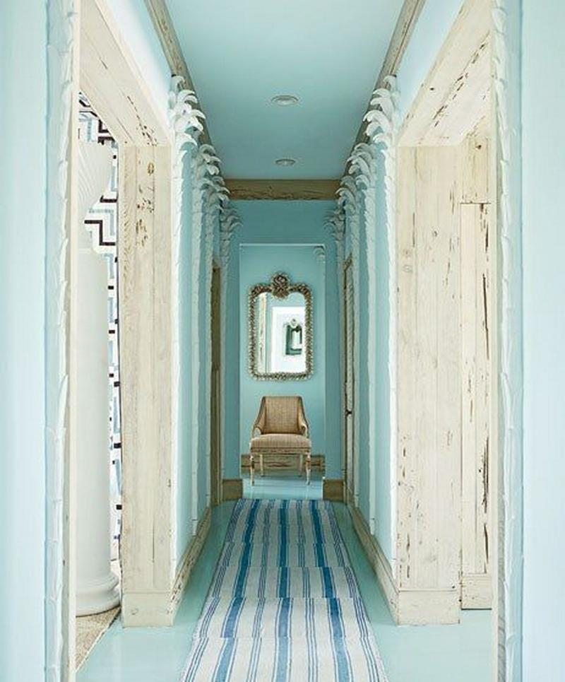 10 Blue Hallway Design Ideas Rilane
