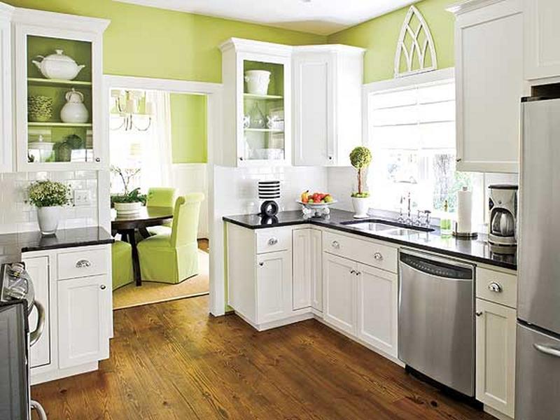 Spring Green Kitchen