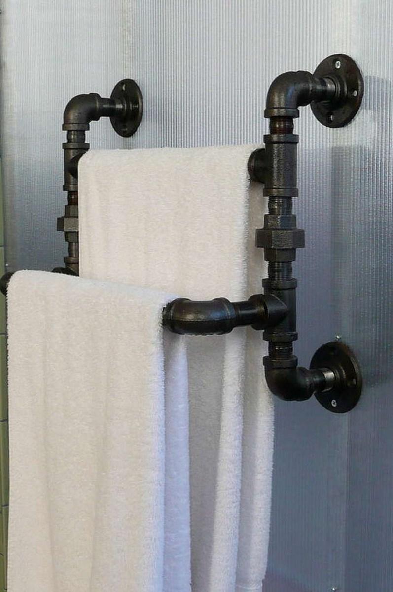 10 Cool And Creative Towel Rakcs For The Bathroom Rilane
