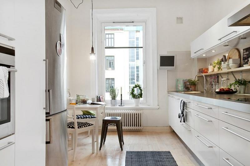 Airy Scandinavian Kitchen