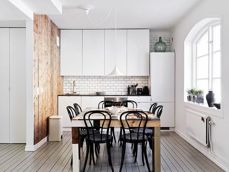 15 lovely and inspiring scandinavian kitchen designs - rilane