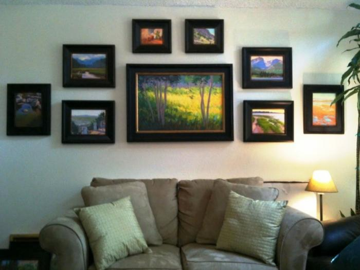 Painting In Living Room Wall Home Design