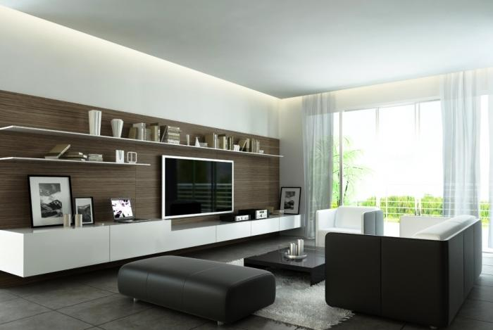Attractive Contemporary Living Room Design Part 40